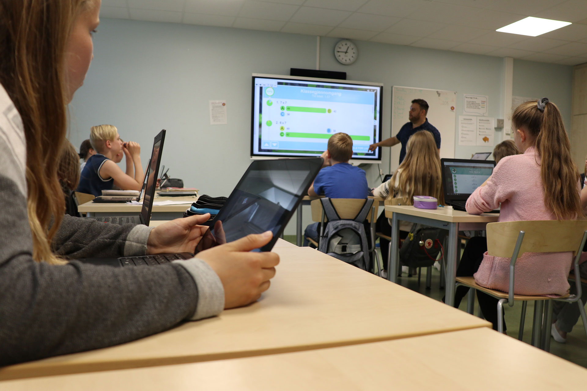 Klasseromsundervisning-smart