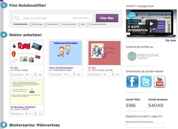 illustrasjon av en interaktiv skjerm